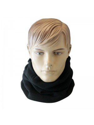 Thinsulate Fleece Neck Warmer - Black
