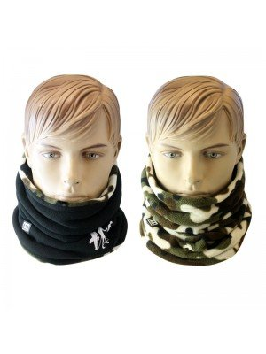 Unisex Reversible Camo Neck Warmer Asst. Colours