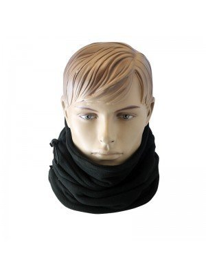 Unisex Thinsulate Multi-Functional Thermal Neck Warmer - Black