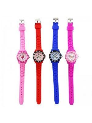 Wholesale Children Ravel Silicone Strap Watches- Assorted Designs