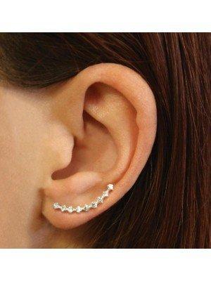 Wholesale Sterling Silver Pair Of Gemset Ear Crawler