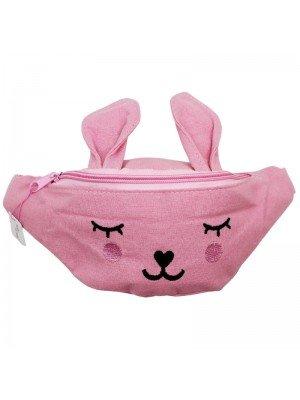 Wholesale Children's Rabbit Styled Bum Bag - Assorted Colours