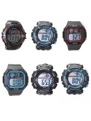 Ravel Multi-Functional Digital Sports Watch - Assorted Designs