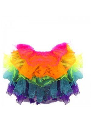 Adults Rainbow Tutu Skirt