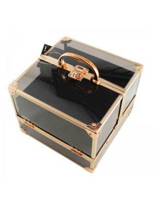Technic Black & Rose Gold Beauty Case