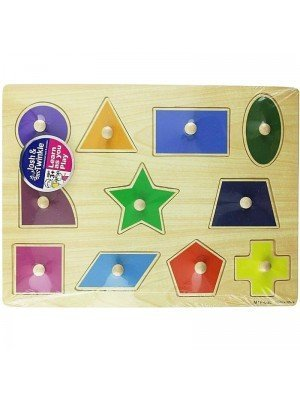 Wooden Shape Matching Educational Toy/Puzzle