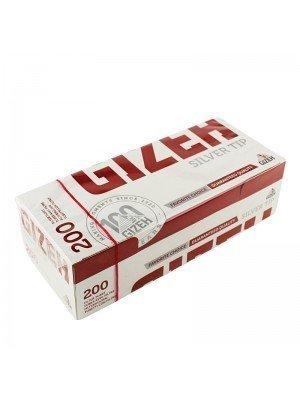 Gizeh F-Tubes - Silver Tip (200 Pcs)
