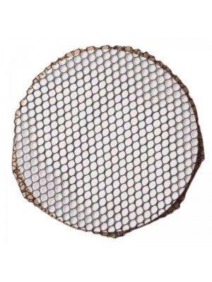 Wholesale Black Shiny Bun Net - 10cm