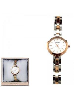 Wholesale Henley Ladies Bracelet Watch - Silver/Rose Gold
