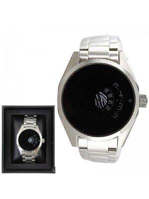 Men's Softech Round Metal Bracelet Watch - Silver