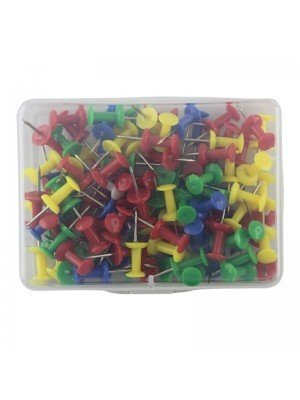 Push Pins -Assorted Colours