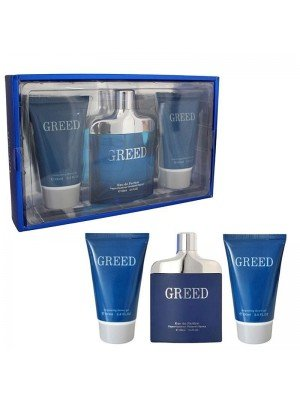 Greed 3 Pieces Gift Set For Men