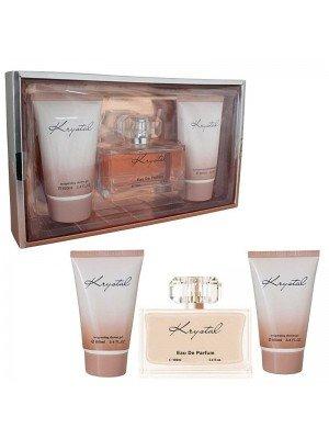 Krystal 3 Pieces Gift Set For Ladies