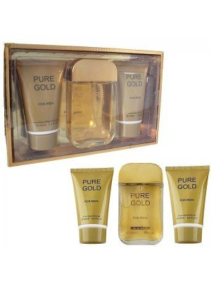 Pure Gold 3 Pieces Gift Set For Men