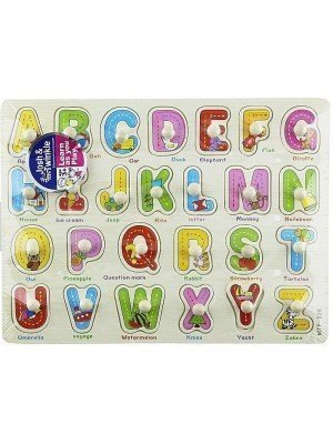 Wooden Letters Matching Educational Toy/Puzzle