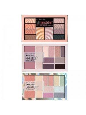 Maybelline Eyeshadow + Cheek Palettes -3 Assorted