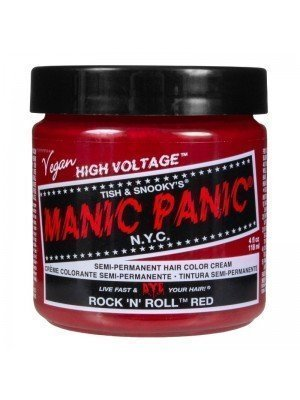 Manic Panic Classic High Voltage Hair Dye - Rock N Roll Red
