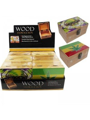 Wooden Storage Box -Assorted Designs