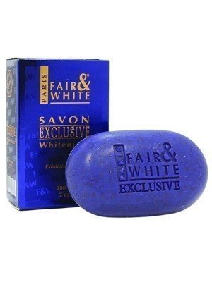 Fair & White Savon Exclusive Whitenizer Exfoliating Soap- 200g