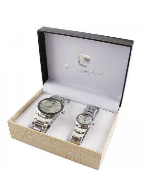 Luis Cardini His & Her Watch Gift Set - PNP (2151)