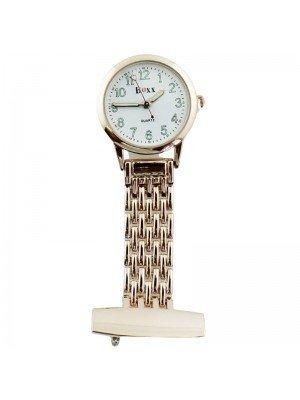 Wholesale BOXX Fashion Fob Watch - Rose Gold & White