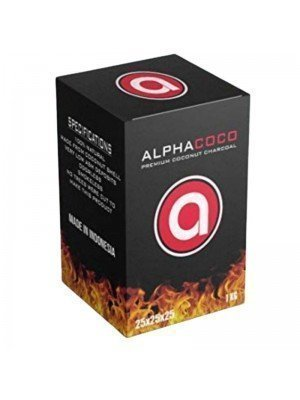 Alpha Coco Premium Coconut Charcoal - 1kg