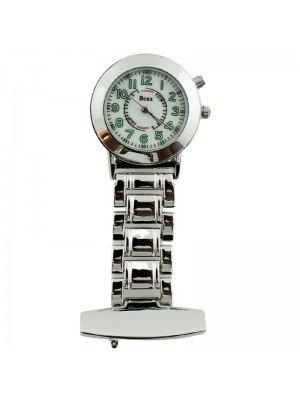 Wholesale BOXX Fashion Fob Watch - Silver & White