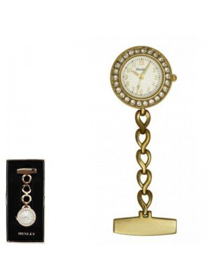 Wholesale Henley Fashion Fob Watch - Gold
