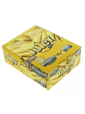 Wholesale Juicy Jay's Big Size Flavoured Rolls - Banana