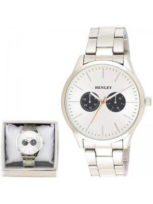 Wholesale Mens Henley Sports Bracelet Watch- Silver