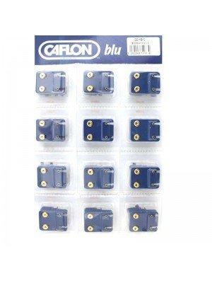 Wholesale Caflon Blu Mini December Gold Blue Zicron Birthstone Studs
