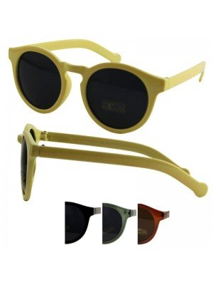 Wholesale Ladies Fashion Round Sunglasses - Assorted Colours