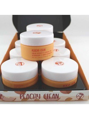 Wholesale W7 Peachy Clean Makeup Remover & Cleansing Balm-70g