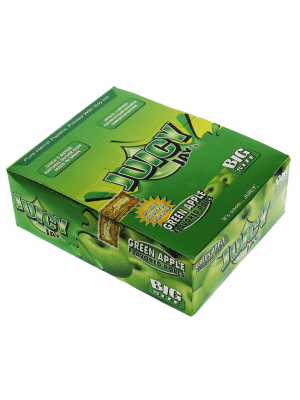 Wholesale Juicy Jay's Big Size Flavoured Rolls - Green Apple