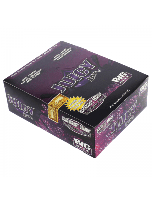 Wholesale Juicy Jay's Big Size Flavoured Rolls - Blackberry Brandy