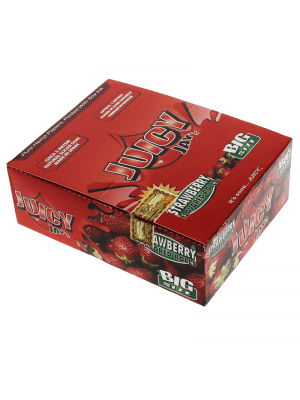 Wholesale Juicy Jay's Big Size Flavoured Rolls - Strawberry