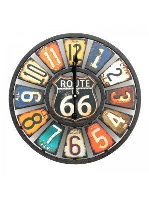 Route 66  Wall Clock - 40cm