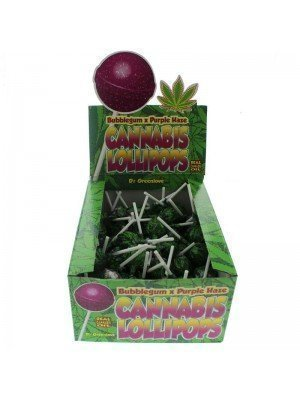 Wholesale Cannabis Lollipops - Bubblegum x Purple Haze