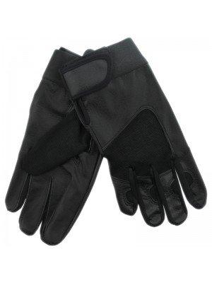 Unisex Driving Leather Gloves - Black (Dozen)