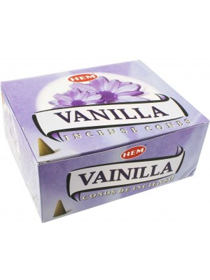 Wholesale Hem Incense Cones - Vanilla