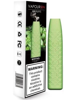 Wholesale Vapouron Disposable Vape Bar - Menthol (20mg)