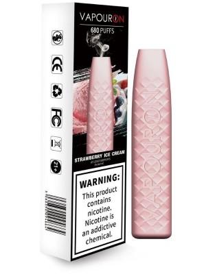 Wholesale Vapouron Disposable Vape Bar - Strawberry Ice Cream(20mg)