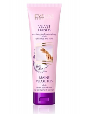Eveline Cosmetics Velvet Hands Smoothing & Moisturising Elixir For Hands & Nails-100ml