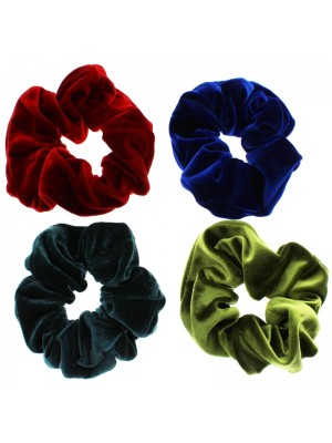 Velvet Scrunchies - Assorted Colours