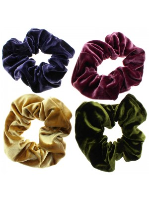 Velvet Scrunchies - Assortment