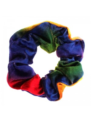 Velvet Scrunchies - Rainbow