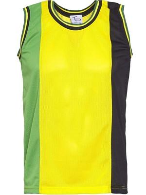 Jamaica Design Mesh Top Vest-Assorted Sizes