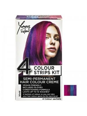 Wholesale Yummy Colour Semi-Permanent 4 Colour Strips Kit - Vivid