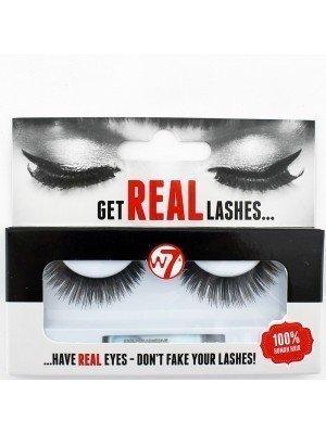W7 100% Human Hair Eyelashes - HL02