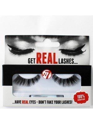 W7 100% Human Hair Eyelashes A